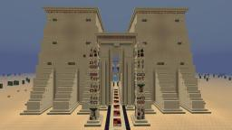 The Temple of Anubis Minecraft Map & Project