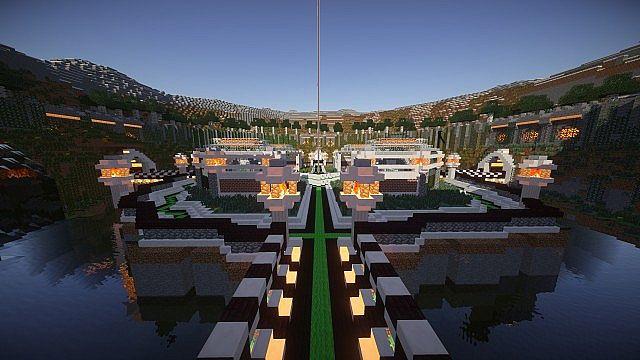 Mini Games Lobby Death Valley Minecraft Project - Minecraft spiele lobby