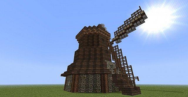 Dutch Windmill Minecraft Project