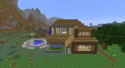 The secret lake house! Minecraft Map & Project