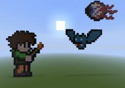 Terraria Pixel Art Minecraft Map & Project