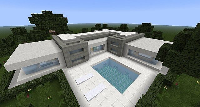 Minimal house minecraft project for Minimal housing