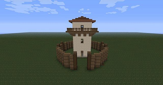 Roman Watchtower Minecraft Project