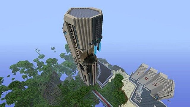 Mass effect world (Xbox 360 version) Minecraft Project