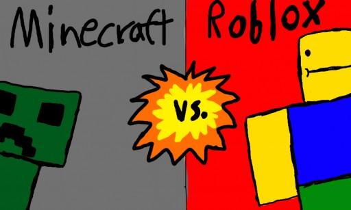 Minecraft Vs. ROBLOX Minecraft Blog