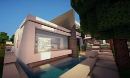 Bryta - Modern House Minecraft Map & Project