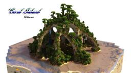 Coral Island - a custom terrain Minecraft Map & Project