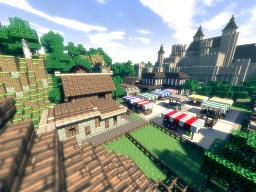 The Town of Cliffsworth Minecraft Map & Project