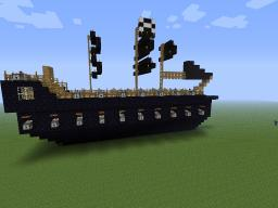 Deep Obsidian (Pirate Ship) Minecraft Map & Project