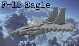 F-15 Eagle - US Air Force Birthday Minecraft Map & Project