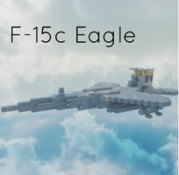 F-15c Eagle Minecraft Project