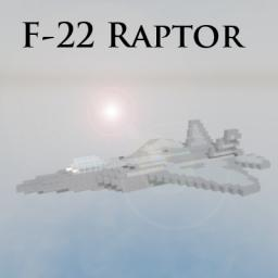 F-22 Raptor with working After Burners Minecraft