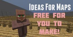 Unique Ideas For Maps you are Free to Make![Pop-Reel] Minecraft Blog Post