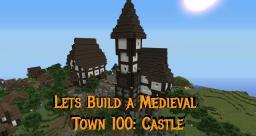 Gundahar - Medieval Village - Part 100 Castle Garden Minecraft Map & Project