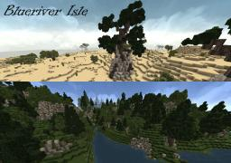 Blueriver Isle - Custom Terrain and Builds Minecraft Map & Project