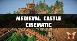 Medieval castle and 100 Subscribers special Minecraft Project