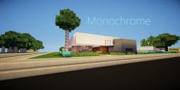Monochrome   Small Minimalistic Home Minecraft Map & Project