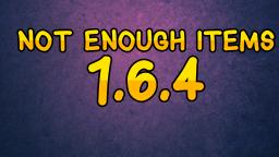 [1.6.4] Not Enough Items Minecraft Blog Post