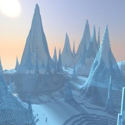 Realistic Ice Spikes Minecraft