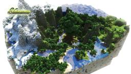 Shinamu- a custom terrain Minecraft Map & Project