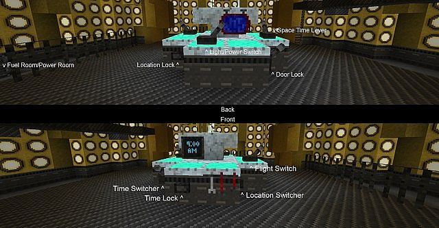 fully working minecraft tardis 16 only minecraft project
