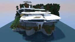 White Sea Mansion (inspired by Stark mansion) Minecraft Map & Project