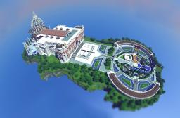 St Peter's Basilica Minecraft Map & Project