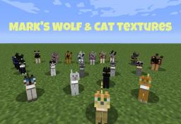 Mark's Wolf and Cat textures (16x16) [1.7.10/14w11b and older] Minecraft