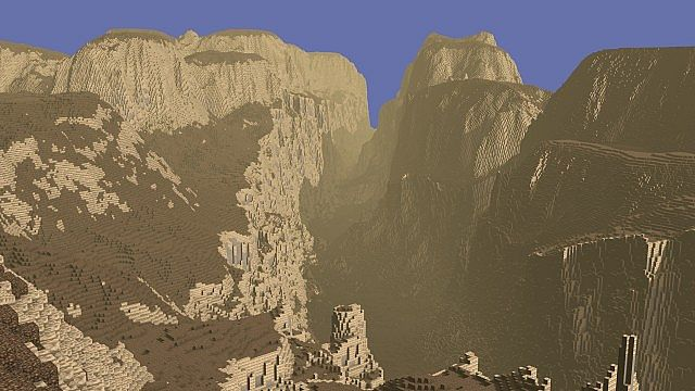Realms of caeldor fantasy map minecraft project a massive canyon impassable barrier sciox Image collections