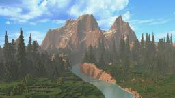 Realms of Caeldor Fantasy Map Minecraft