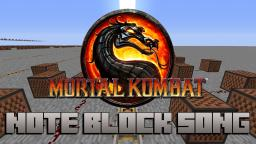 Minecraft Note Block Song: Mortal Kombat Theme Song Minecraft Project