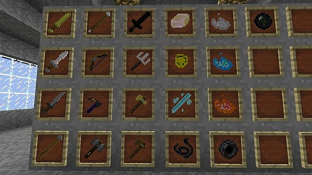 Retextured Items and Weapons