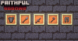 Broken Items Addon for Faithful Minecraft Texture Pack