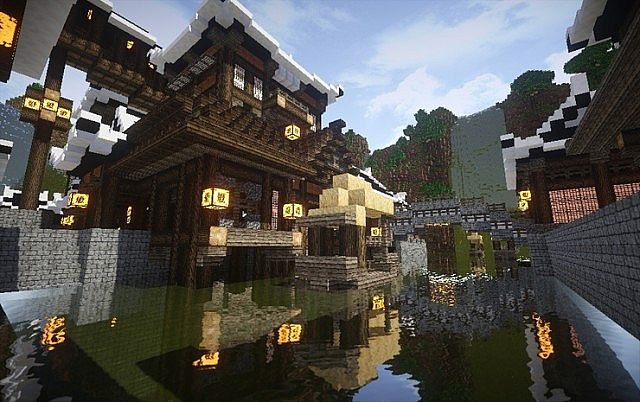 【jilchu】korea Chosun Village Minecraft Project