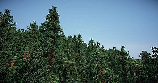 Custom Tree Pack Vol.1 Boreal