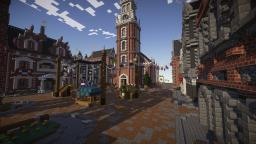 New Brickston - A Colonial Styled City Minecraft Map & Project