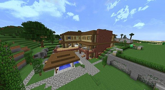 Minecraft Family House Minecraft Project