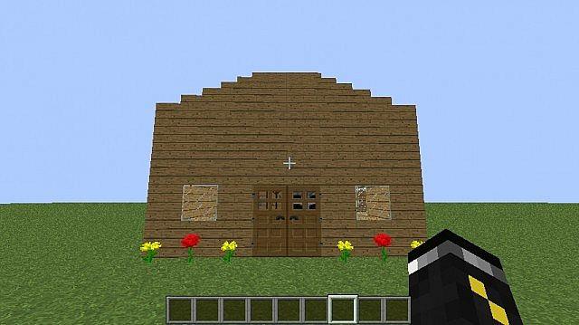 Basic Minecraft Houses ( Brick, Wood, Cobblestone