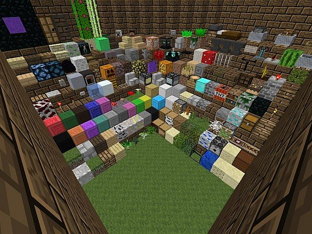 With the texture pack