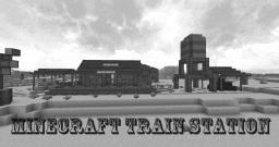 Minecraft Train Station - Wild West Project Minecraft
