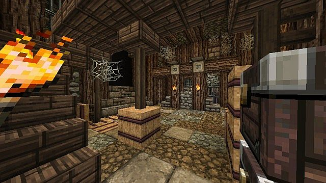 Medieval prison interior minecraft project for Interior wall designs minecraft