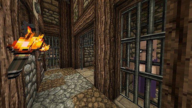 Medieval Prison Interior Minecraft Project