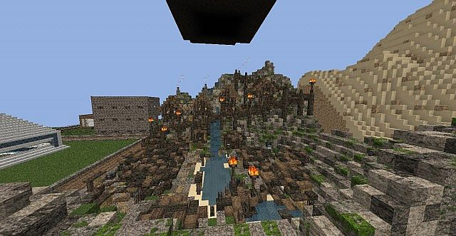 Fishing village Minecraft Project