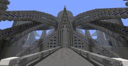 """Gelida Terra - The Frozen City"" By Alpaka Minecraft Map & Project"