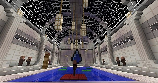 how to build a gym on minecraft