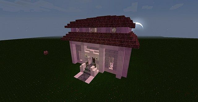 Roman Style House Minecraft Project