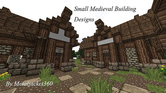 Small Medieval Building Designs Minecraft Project