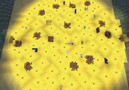 Capture the flag & pvp map Minecraft Project