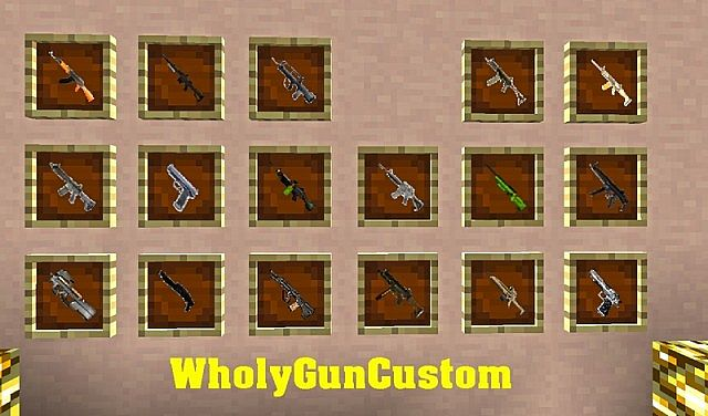 minecraft guns mod download