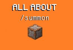 [TUTORIAL] All about the /summon command! Post #04 - Summoning item entities! Minecraft